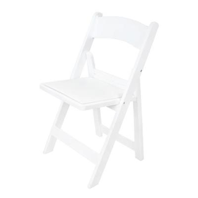 Rental store for WHITE PLASTIC PADDED CHAIR in Miami FL