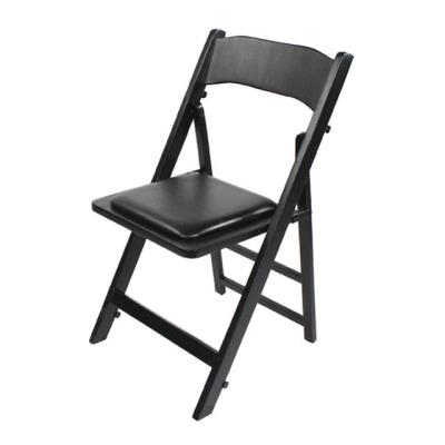Rental store for CHAIR WOOD FOLDING BLACK W  PAD in Miami FL