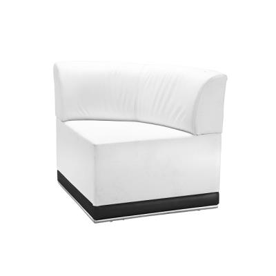 Rental store for COCO-WHITE-CORNER CHAIR in Miami FL