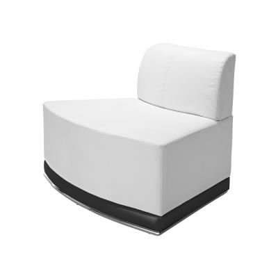 Rental store for COCO-WHITE INVERTED CORNER CHAIR in Miami FL