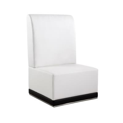 Rental store for LUNA-WHITE-ARMLESS CHAIR in Miami FL