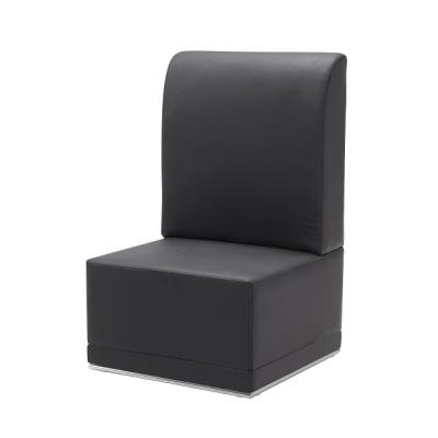 Rental store for LUNA-BLACK-ARMLESS CHAIR in Miami FL