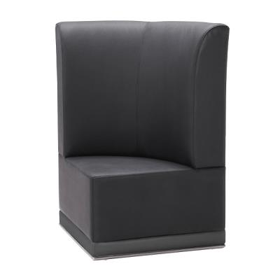 Rental store for LUNA-BLACK-CORNER CHAIR in Miami FL