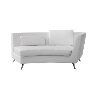 Rental store for CURVED WHITE RIGHTSIDE CHAISE in Miami FL