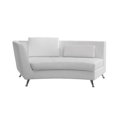 Rental store for CURVED WHITE LEFTSIDE CHAISE in Miami FL
