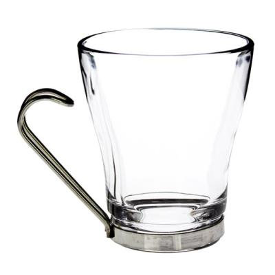 Rental store for CAPPUCCINO GLASS CUP-S S HANDLE  20 in Miami FL