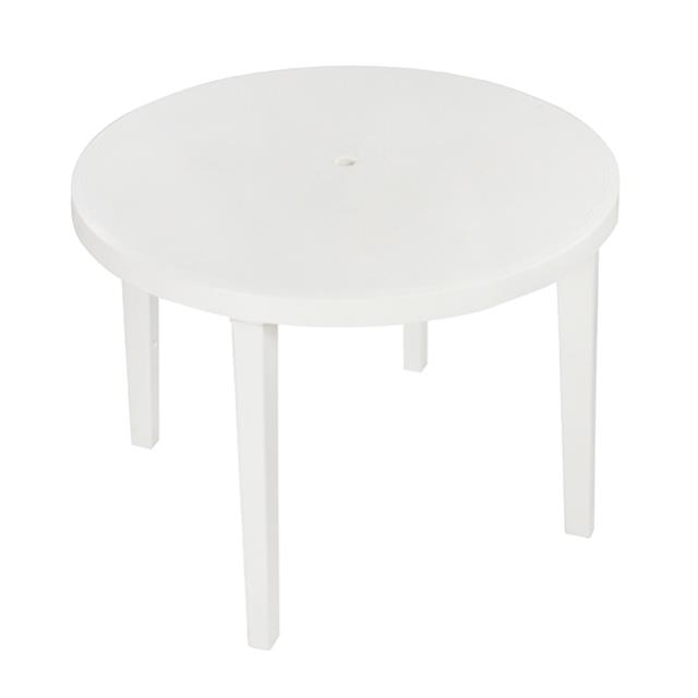 Where to find TABLE 38 RD PLASTIC W UMB HOLE in Miami