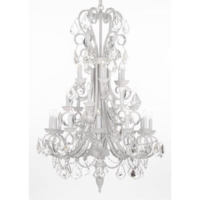 Rental store for CHANDELIER LG-WH W CRYSTALS in Miami FL