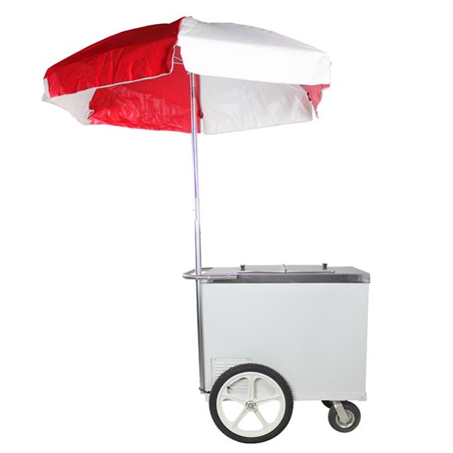 Where to find ICE CREAM PUSH CART W  RED WH UMBRELLA in Miami