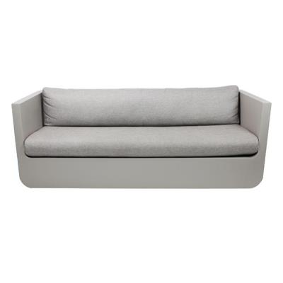 Rental store for ULM SOFA-TAUPE W CREVIN CUSHION in Miami FL