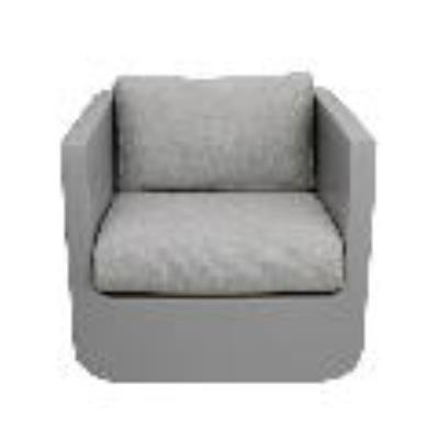 Rental store for ULM LOUNGE CHAIR-TAUPE W TAUPE CUSHION in Miami FL