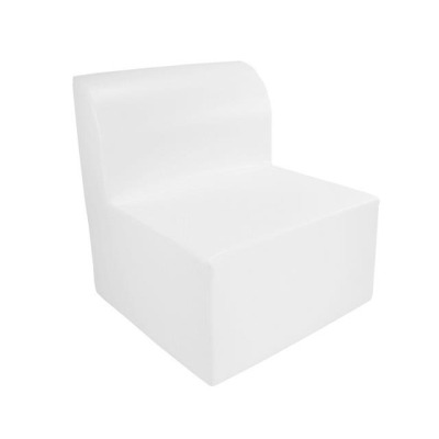 Rental store for MIAMI ARMLESS LOUNGE CHAIR WHITE in Miami FL