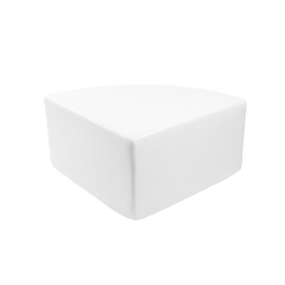Rental store for MIAMI ¼ RD OTTOMAN WHITE in Miami FL