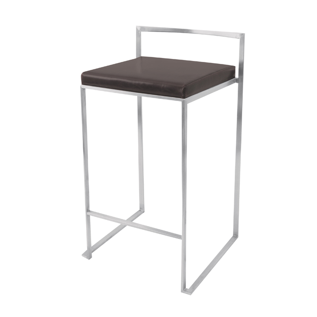 Where to find FUJI S S BARSTOOL W BLACK SEAT in Miami
