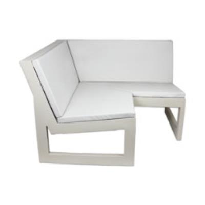 Rental store for FRAME CORNER SOFA-ECRU WITH CUSHION in Miami FL