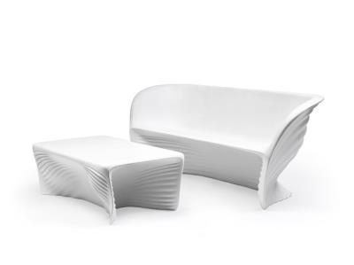 Rental store for BIOPHILIA SOFA WHITE WITH CUSHION in Miami FL