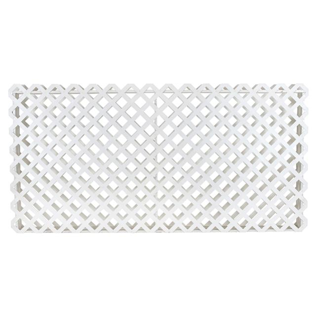 Where to find LATTICE FLOWER BOX 8 L X 4 H WHITE in Miami