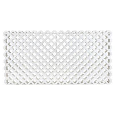 Rental store for LATTICE FLOWER BOX 8 L X 4 H WHITE in Miami FL