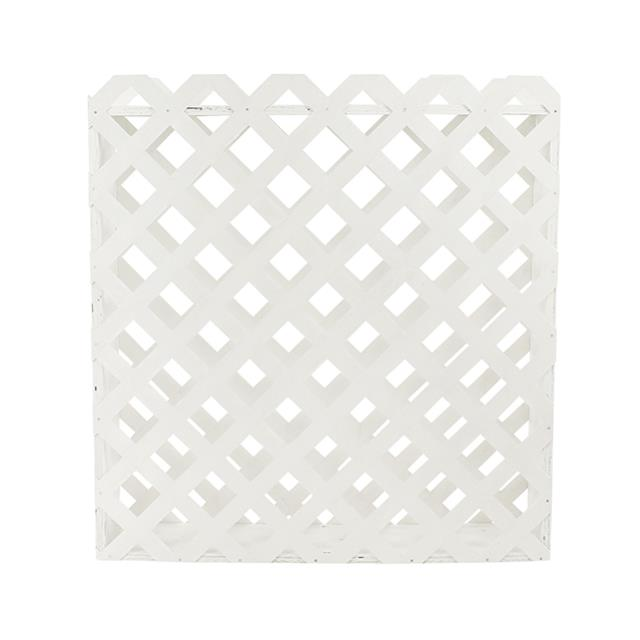 Where to find LATTICE FLOWER BOX 4 L X 4 H WHITE in Miami