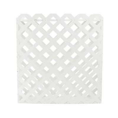 Rental store for LATTICE FLOWER BOX 4 L X 4 H WHITE in Miami FL