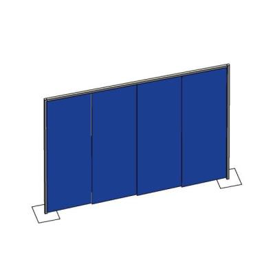 Rental store for PIPE   DRAPE WALL- BLUE 8  HIGH in Miami FL