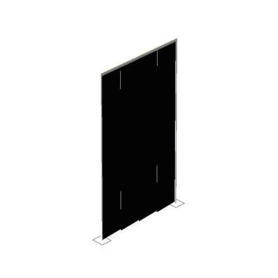 Rental store for PIPE   DRAPE WALL-18  HIGH-BLACK VELOUR in Miami FL