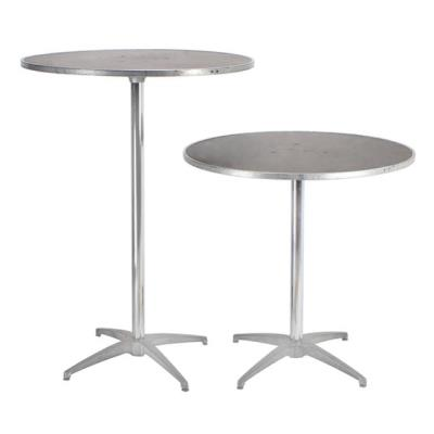Rental store for ROUND PLYWOOD PEDESTAL TABLE in Miami FL
