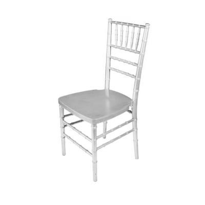 Rental store for CHIAVARI CHAIR-SILVER in Miami FL
