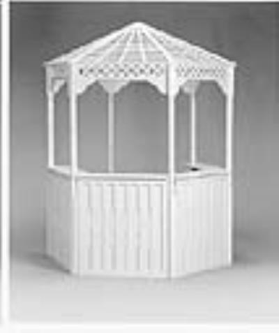 Rental store for GAZEBO-MT. VERNON 96  W BAR SECTIONS in Miami FL