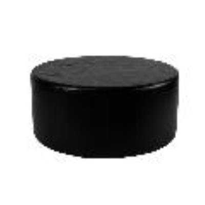 Rental store for PUCK Round Ottoman BLACK in Miami FL