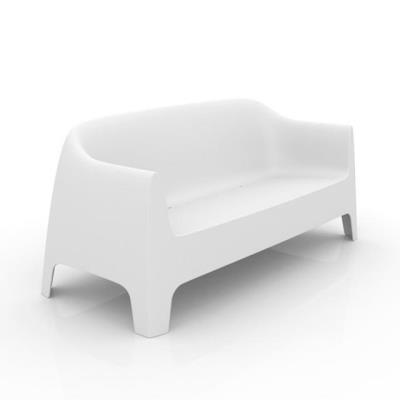 Rental store for SOLID SOFA-WHITE in Miami FL