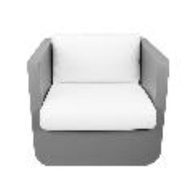 Rental store for ULM LOUNGE CHAIR-TAUPE W ICE CUSHION in Miami FL