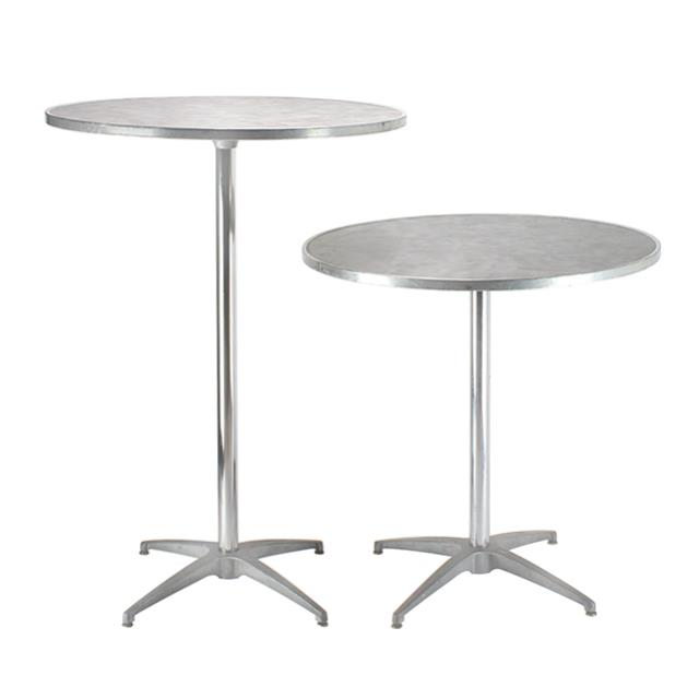 Where to find ROUND PEWTER PEDESTAL TABLE in Miami