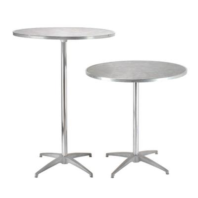 Rental store for ROUND PEWTER PEDESTAL TABLE in Miami FL