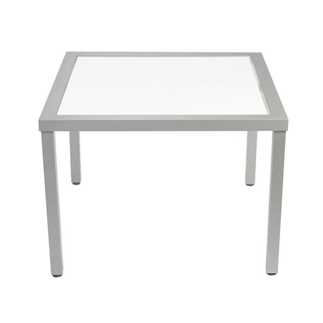 Where to find KIT-TABLE 41x41x30h ALUM W ACRYLIC TOP in Miami