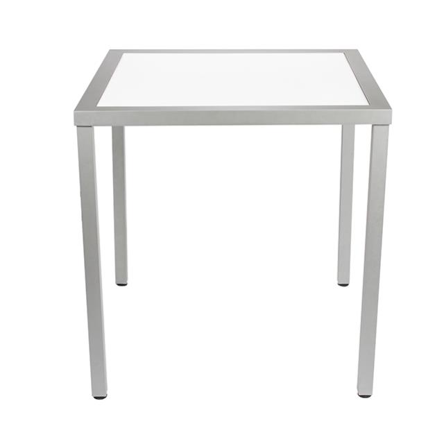 Where to find KIT-TABLE 41x41x42h ALUM W ACRYLIC TOP in Miami