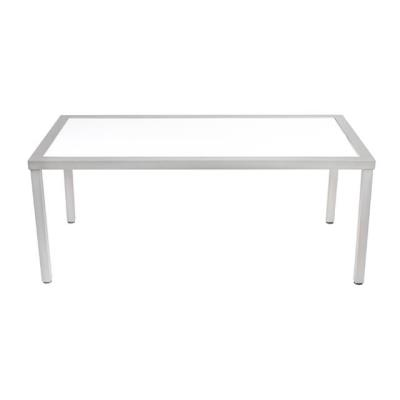Rental store for KIT-TABLE 37x73x30h ALUM W ACRYLIC TOP in Miami FL