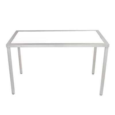 Rental store for KIT-TABLE 37x73x42h ALUM W ACRYLIC TOP in Miami FL
