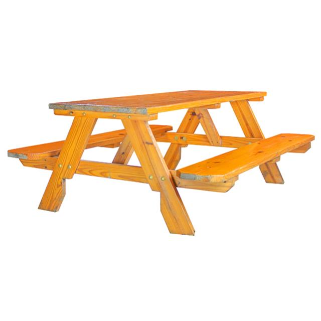 WOOD PICNIC BENCH  FOOT Rentals Miami FL Where to Rent WOOD