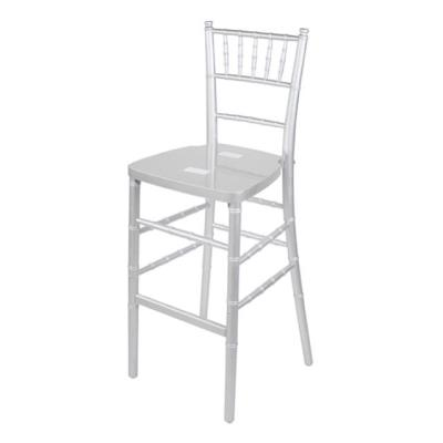 Rental store for CHIAVARI BARSTOOL-SILVER in Miami FL