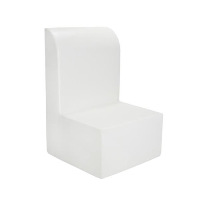 Rental store for HIGHBACK ARMLESS CHAIR WHITE in Miami FL