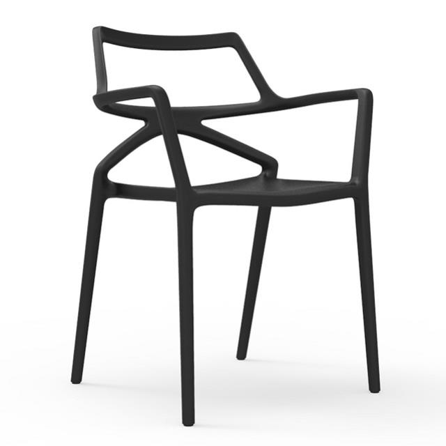 Where to find DELTA ARMCHAIR-BLACK in Miami