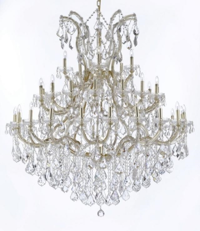 Rental store for CHANDELIER-CRYSTAL GOLD 60H52W in Miami FL
