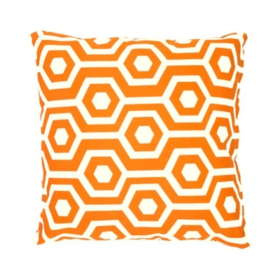 Rental store for PILLOW-HEX ORANGE WHITE 17X17 in Miami FL