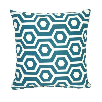 Rental store for PILLOW-HEX TEAL WHITE 17X17 in Miami FL