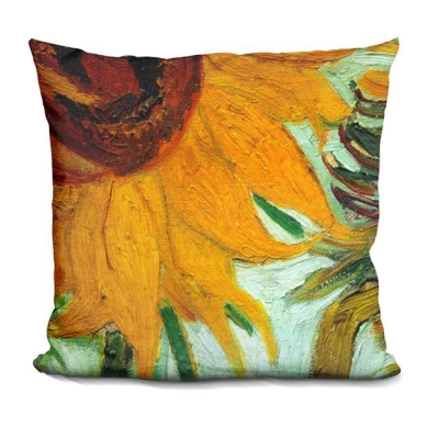 Rental store for PILLOW-VAN GOGH-TWELVE SUNFLOWERS in Miami FL