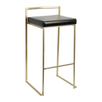 Rental store for FUJI GOLD BARSTOOL W BLACK SEAT in Miami FL