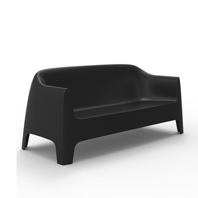 Where to find SOLID SOFA-BLACK in Miami