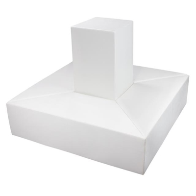 Rental store for INOUT-DIAMOND BENCH SET-WHITE in Miami FL