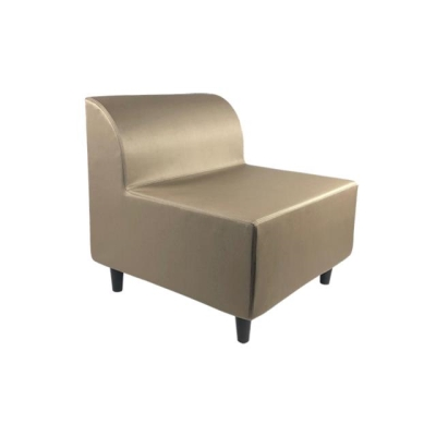 Rental store for TAT ARMLESS LOUNGE CHAIR-TAUPE in Miami FL